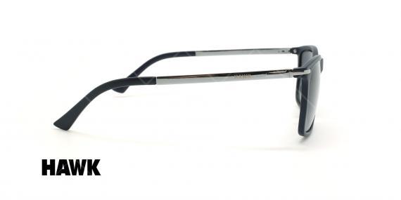 عینک آفتابی مربعی هاوک - HAWK HW1664 - مشکی - عکاسی وحدت - زاویه کنار
