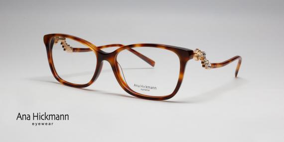 عینک طبی نگین دار آنا هیکمن -زاویه سه رخ