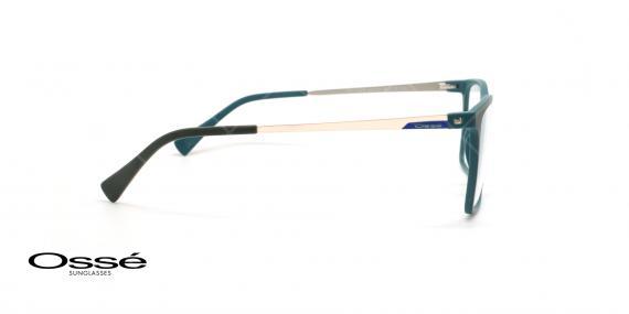 عینک طبی مستطیلی اوسه - Osse Os11976 - مشکی - عکاسی وحدت - زاویه کنار