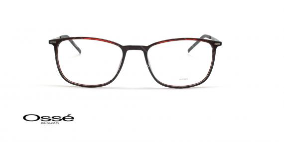 عینک طبی مستطیلی اوسه - Osse Os12036 - قهوه ای - عکاسی وحدت - زاویه روبرو