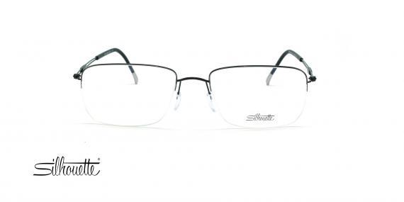 عینک طبی زیرگریف مدل Silhouette Tng Nylor 5279 - مشکی - عکاسی وحدت - زاویه روبرو