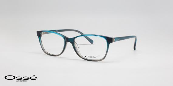 عینک طبی مسطتیل شکل Osse - اوپتیک وحدت- زاویه سه رخ