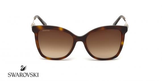عینک آفتابی گربه ای سواروسکی -  SWAROVSKI SW154H- اپتیک وحدت - عکس زاویه روبرو
