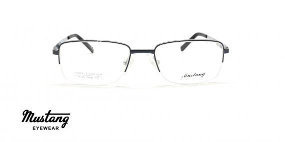عینک طبی زیرگریف موستانگ - MUSTANG MU6765 - عکاسی وحدت - عکس زاویه روبرو