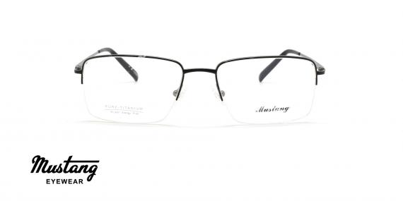 عینک طبی زیرگریف موستانگ - MUSTANG MU6767 - عکاسی وحدت - عکس زاویه روبرو