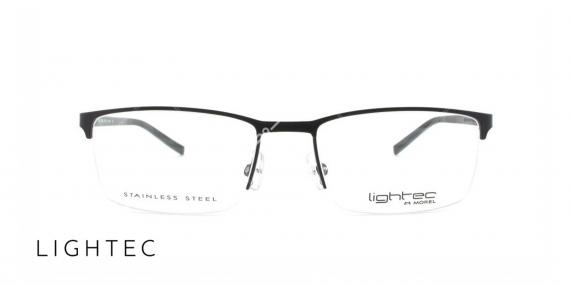 عینک طبی مستطیلی لایتک - وحدت اپتیک - عکس از زاویه سه رخ