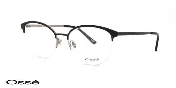 عینک زیر گریف مشکی اوسه os11857 - وحدت اپتیک - عکس از زاویه سه رخ