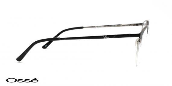 عینک زیر گریف مشکی اوسه os11857 - وحدت اپتیک - عکس از زاویه کنار