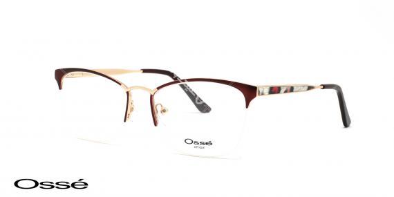 عینک طبی زیرگریف اوسه os11902 - وحدت اپتیک - عکس از زاویه سه رخ