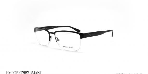 عینک طبی زیرگریف جورجیو آرمانی - GIORGIO ARMANI GA950 - مشکی - عکاسی وحدت - زاویه سه رخ