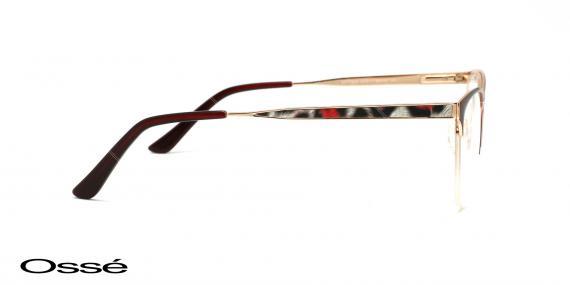 عینک طبی زیرگریف اوسه os11902 - وحدت اپتیک - عکس از زاویه کنار