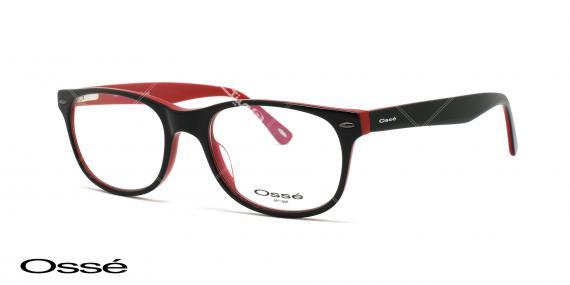 عینک طبی کائوچویی اوسه os11031 - اپتیک وحدت - عکس از زاویه سه رخ