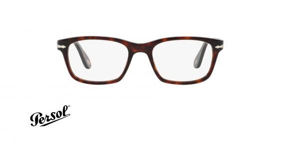 عینک طبی پرسول - PERSOL PO3012V - عکاسی وحدت-فریم قهوه ای - عکس زاویه روبرو