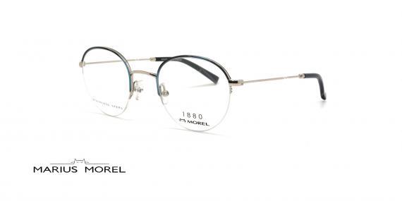 عینک طبی زیرگریف مورل -   MARIUS MOREL 60052M -عکاسی وحدت - عکس زاویه سه رخ