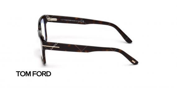 عینک طبی ام فورد - TOM FORD TF5535B - عکاسی وحدت - عکس زاویه کنار