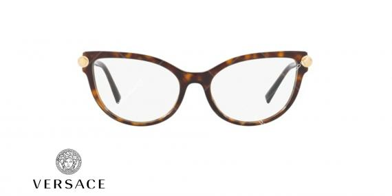 عینک طبی گربه ای ورساچه - VERSACE VE3270Q - عکاسی وحدت - عکس زاویه روبرو