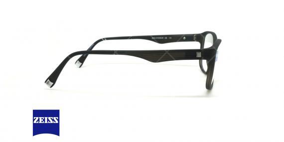 عینک طبی کائوچویی زایس ZEISS ZS10005 - مشکی - عکاسی وحدت - زاویه کنار