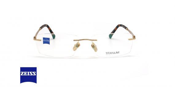 عینک طبی گریف زایس ZEISS ZS60002 - طلایی - عکاسی وحدت - زاویه روبرو