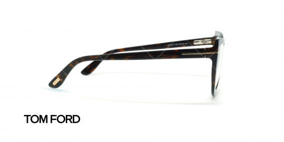 عینک طبی گربه ای تام فورد - TOM FORD TF5519 - قهوه ای هاوانا - عکاسی وحدت - زاویه کنار