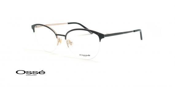 عینک طبی گربه ای اوسه - Osse Os11857 - مشکی - عکاسی وحدت - زاویه سه رخ