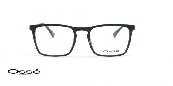 عینک طبی مستطیلی اوسه - Osse Os11976 - مشکی - عکاسی وحدت - زاویه ربرو