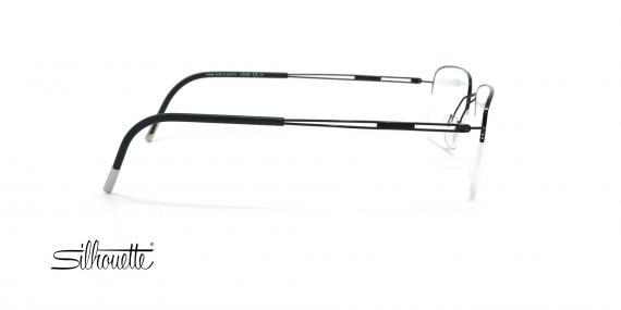 عینک طبی زیرگریف مدل Silhouette Tng Nylor 5279 - مشکی - عکاسی وحدت - زاویه کنار