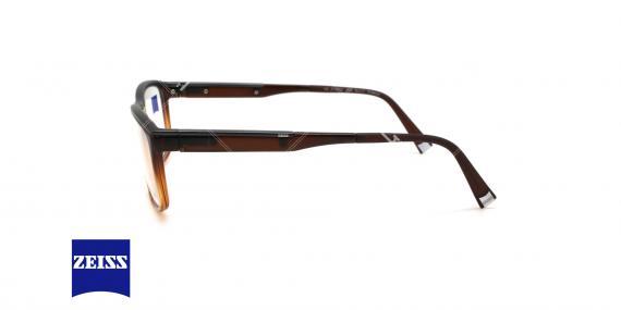 عینک طبی کائوچویی زایس  - ZAISS ZS20003 - عکاسی وحدت - عکس از زاویه کنار