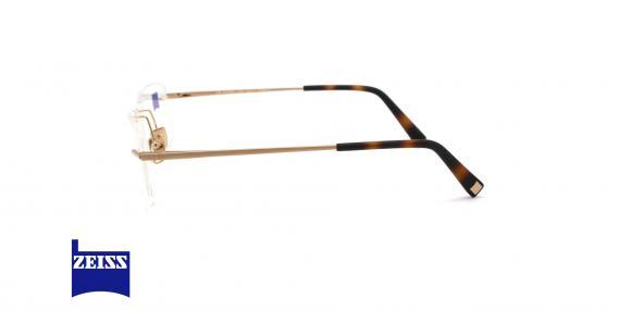عینک گریف تیتانیومی زایس - ZEISS ZS60003 - رنگ سورمه ای - عکاسی وحدت - عکس زاویه کنار