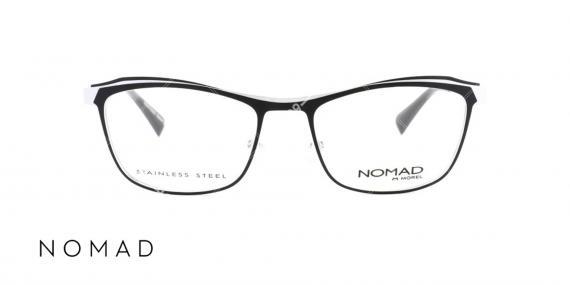 عینک طبی زنانه نوماد - اپتیک وحدت - عکس از زاویه روبرو