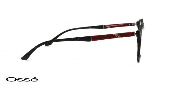 عینک طبی گرد اوسه - اپتیک وحدت - عکس از زاویه سه رخ