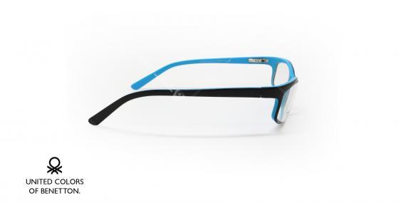عینک طبی بنتون - BENETTON 8374 - عکاسی وحدت - عکس زاویه کنار