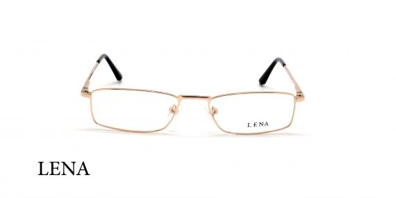 عینک مطالعه لنا - LENA LE449 - طلایی - عکاسی وحدت - زاویه روبرو