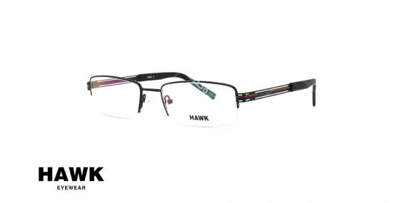 عینک طبی هاوک - HAWK HW6434 - عکاسی وحدت - زاویه سه رخ