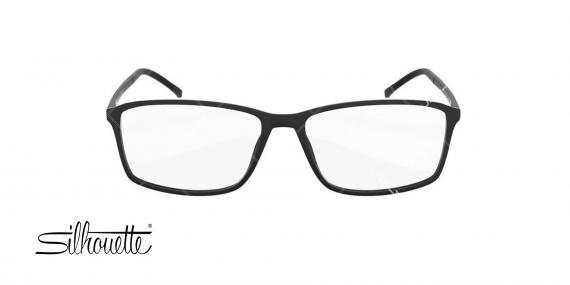 عینک طبی کائوچویی سیلوئت - Silhouette spx2893 - رنگ مشکی - - عکاسی وحدت - عکس زاویه روبرو