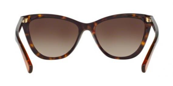 عینک آفتابی مایکل کورس مدل Divya - رنگ قهوه ای - زاویه داخل