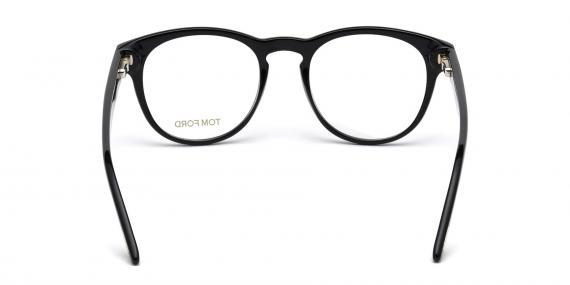 عینک طبی کائوچویی مربعی شکل مشکی رنگ تام فورد - Tom Ford