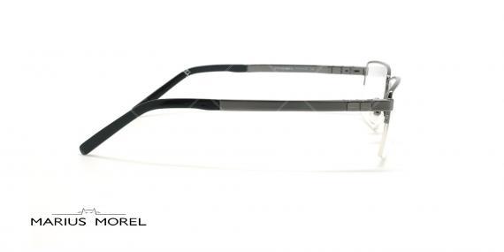 عینک طبی زیرگریف مورل - MARIUS MOREL 50001M - نقره ای -عکاسی وحدت - زاویه کنار