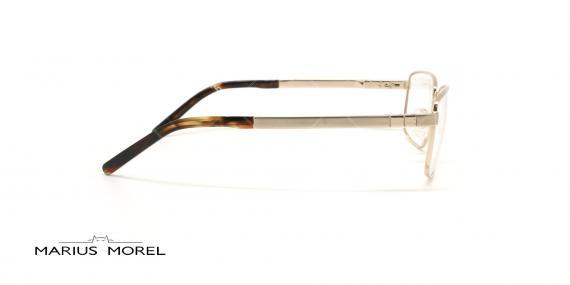 عینک طبی مستطیلی مورل - MARIUS MOREL 50004M - طلایی -عکاسی وحدت - زاویه کنار