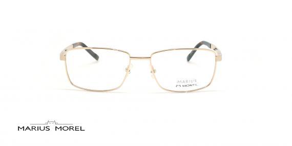 عینک طبی مستطیلی مورل - MARIUS MOREL 50004M - طلایی -عکاسی وحدت - زاویه روبرو