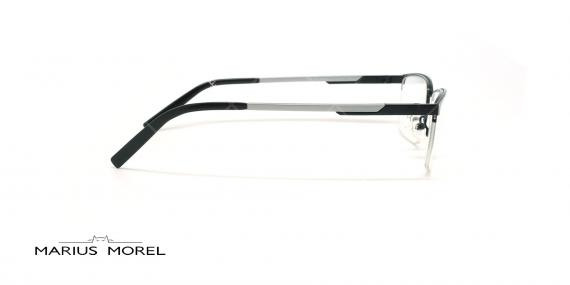 عینک طبی زیرگریف مورل - MARIUS MOREL 50016M - مشکی -عکاسی وحدت - زاویه کنار