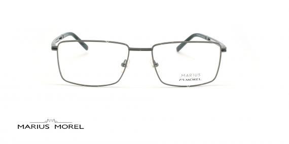 عینک طبی مستطیلی مورل - MARIUS MOREL 50029M - نقره ای -عکاسی وحدت - زاویه روبرو