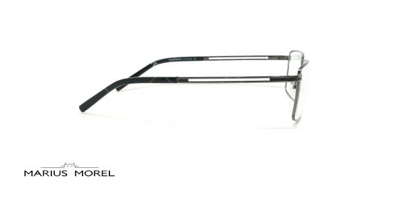 عینک طبی مستطیلی مورل - MARIUS MOREL 50029M - نقره ای -عکاسی وحدت - زاویه کنار