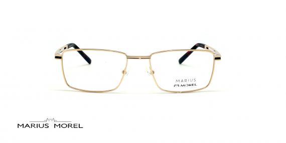 عینک طبی مستطیلی مورل - MARIUS MOREL 50032M - طلایی - عکاسی وحدت - زاویه روبرو