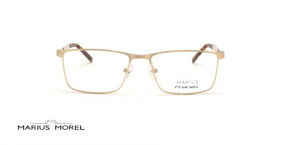 عینک طبی مستطیلی مورل - MARIUS MOREL 50037M - طلایی - عکاسی وحدت - زاویه روبرو