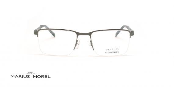 عینک طبی زیرگریف مورل - MARIUS MOREL 50038M -طوسی - عکاسی وحدت - زاویه روبرو