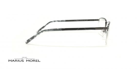 عینک طبی زیرگریف مورل - MARIUS MOREL 50038M -طوسی - عکاسی وحدت - زاویه بقل