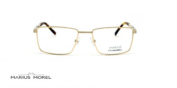 عینک طبی مستطیلی مورل - MARIUS MOREL 50039M - طلایی - عکاسی وحدت - زاویه روبرو