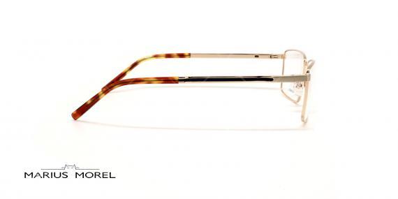 عینک طبی مستطیلی مورل - MARIUS MOREL 50039M - طلایی - عکاسی وحدت - زاویه کنار