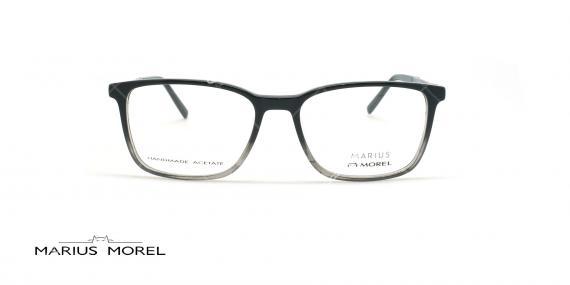 عینک طبی کائوچویی مورل - MARIUS MOREL 50048M - مشکی طوسی - عکاسی وحدت - زاویه روبرو