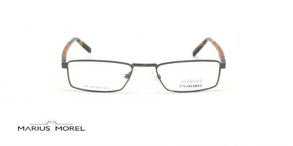 عینک  مطالعه  مورل - MARIUS MOREL 50057M - طوسی نارنجی - عکاسی وحدت - زاویه روبرو